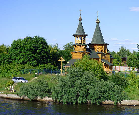 Viking River Cruise Russian Town by the River