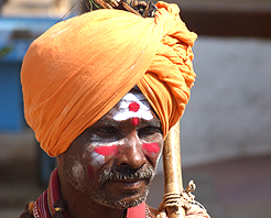 Faces of India Full moon festival Holy Man1