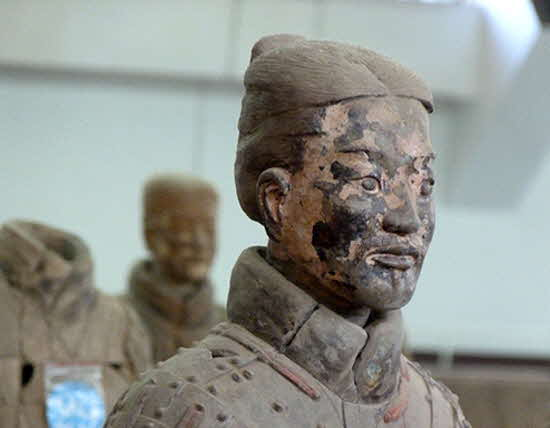 Xi'an Terracotta Warrior Close Up
