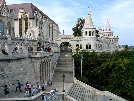 Budapest Fisherman's Castle New
