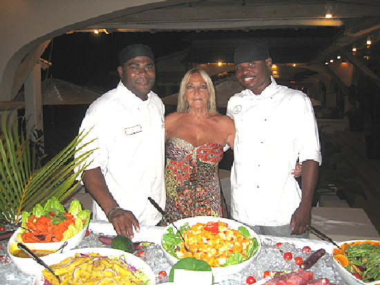 Grenada Spice Resort Buffet