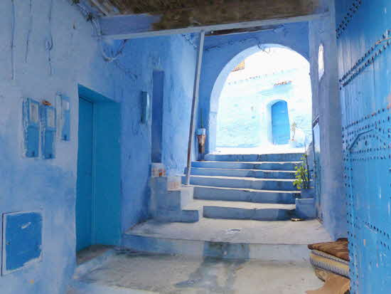 Chefchaouen Entrance Staircase
