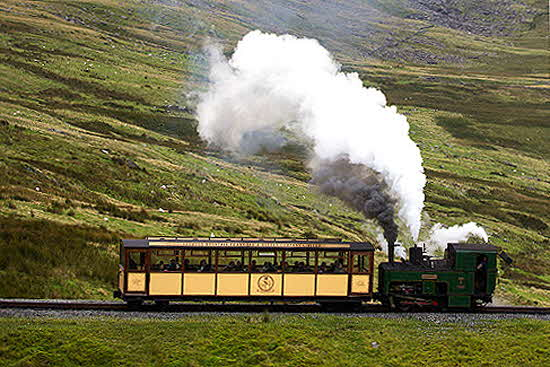 Great Little Trains of Wales Snowdon Mountain Train