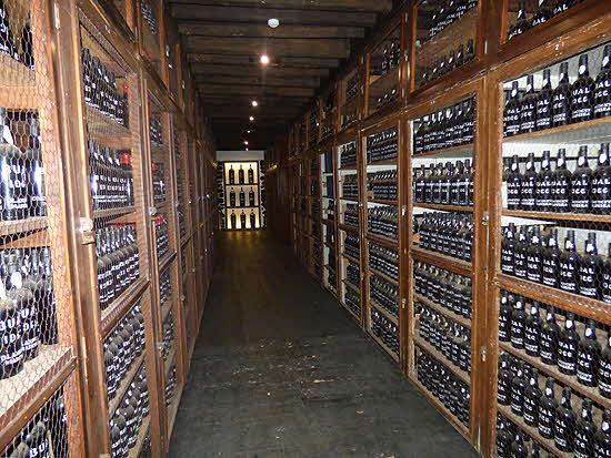 Madeira Blandy's Bottle Library