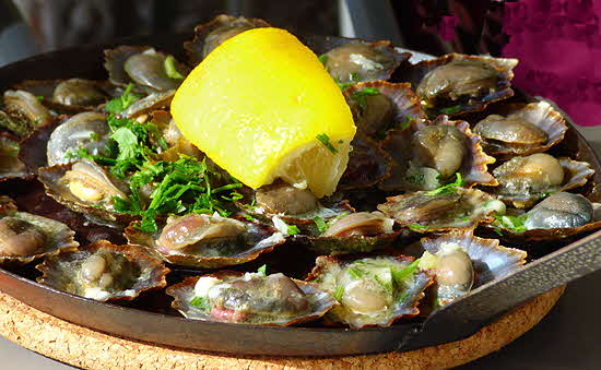 Madeira Cooked Limpets