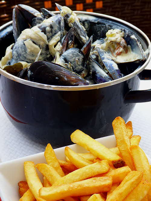 France Moules frittes