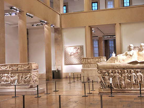 Lebanon artifacts in the National Museum of Beirut date back 11 centuries