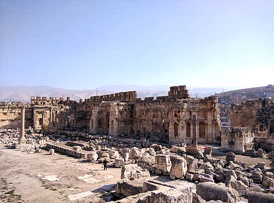 Lebanon vast ancient cities dot the country