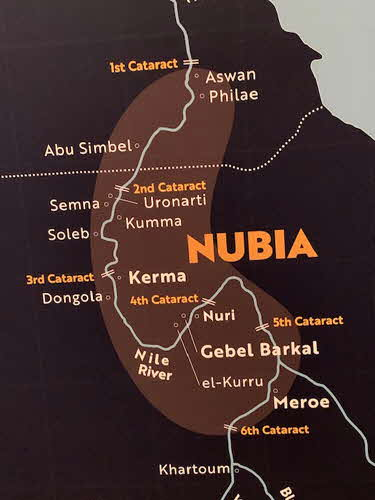 Nubia Map