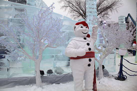 Quebec Winter Carnival Bonhomme