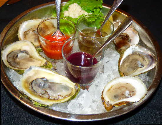 Nova Scotia Oysters on Half Shell