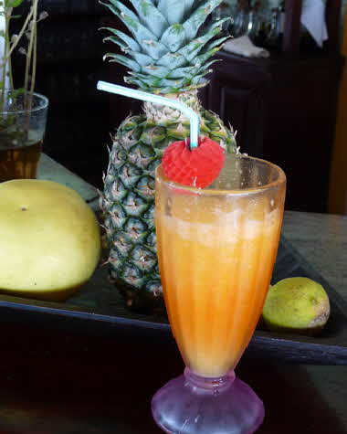 Bocas del Toro 2016 fresh fruit drink