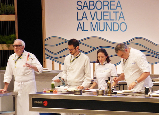 Gastronomika 2019 Stage with Juan Mari and Elena Arzak
