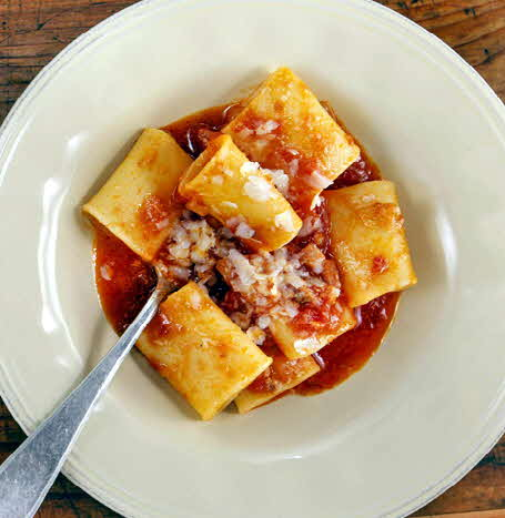 Paccheri all'Amatriciana 3