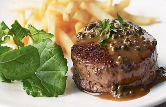 Steak Frites with Sauce