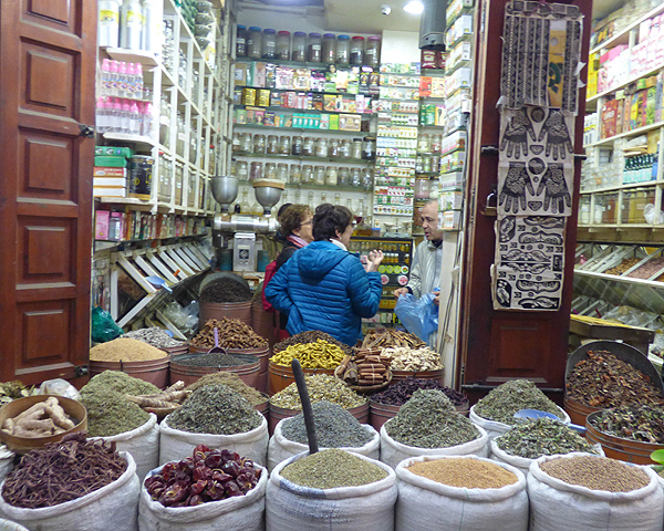 Morocco Chefchaouen Spice Market