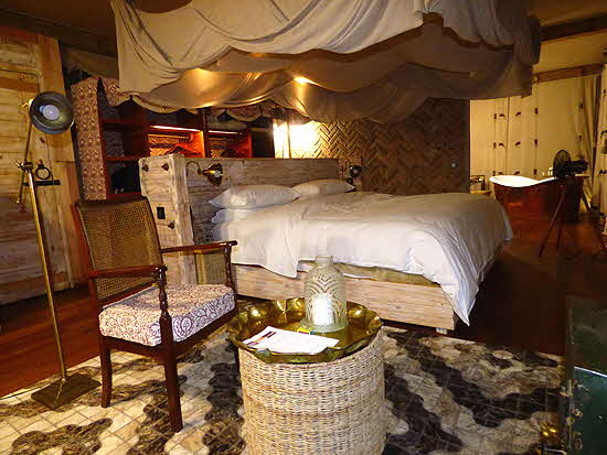 Somalisa Bedroom luxury Tent