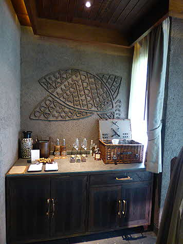 Keemala Clay Pool Suite en Suite Bar area