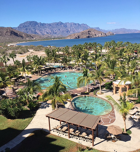 Villa del Palmar View from Terrace