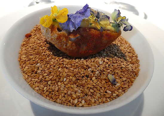 Restaurant Atrio, C�ceres, Sea Anemone