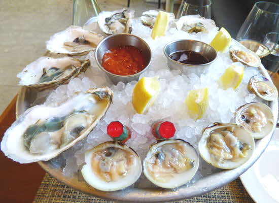 Jockey Hollow Bar & Kitchen Clams and Oysters