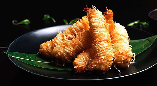 Playboy Club Kataifi Shrimp
