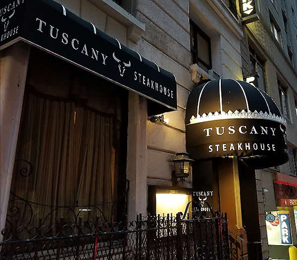 Tuscany Steakhouse Exterior