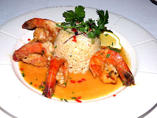 Tuscany Steakhouse Shrimp Scampi