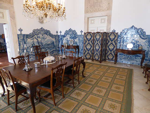 Azulejos Quinta do Carmo Palatial Home