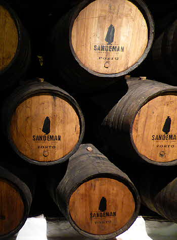 House of Sandeman Port Barrels