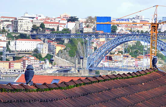 Taylor, Fladgate & Yeatman View of Oporto