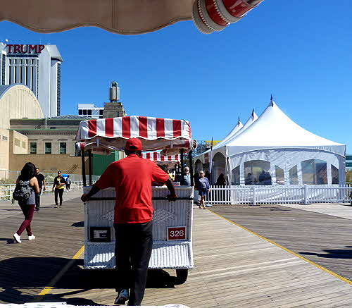 AC Boardwalk Rolling Chair