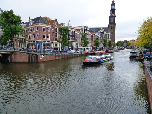 Amsterdam Canal Cruise Boat