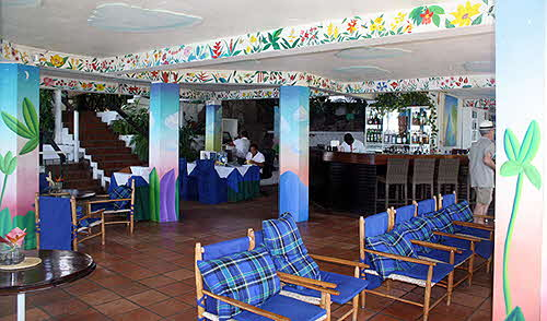 Anse Chastanet reception area