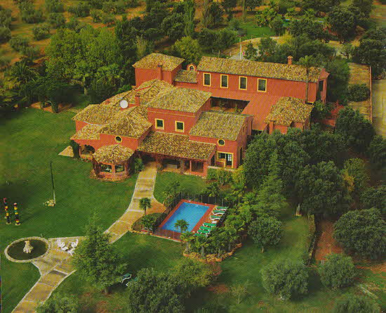 Ascari Club House Aerial