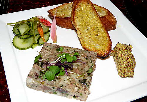 Battery Warf Hotel Aragosta Terrine