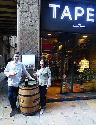 Catalonia 2016 TAPEO Entrance