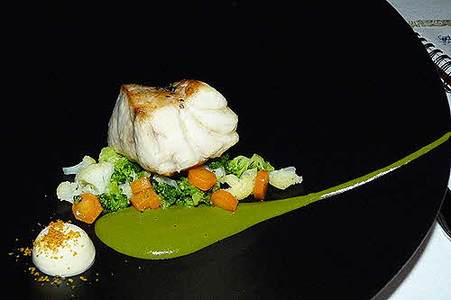 Electra Palace Roof Garden Restaurant Grouper Fillet