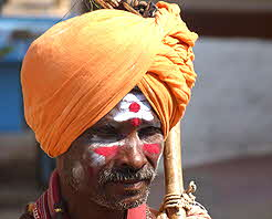 Faces of India Full moon festival Holy Man