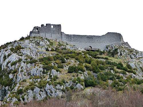 France Cathar Fortifications