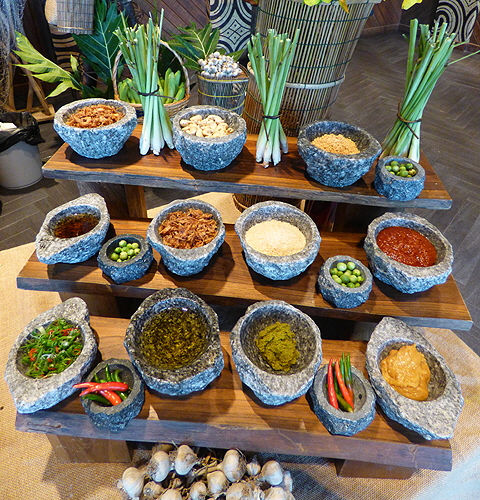 Gastronomy in Thailand Herbs and Spices