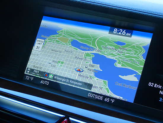 Genesis G90 Navigation Screen