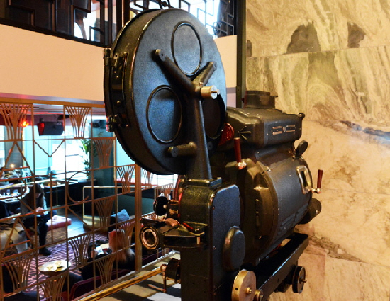 Haymarket Old Film Projector