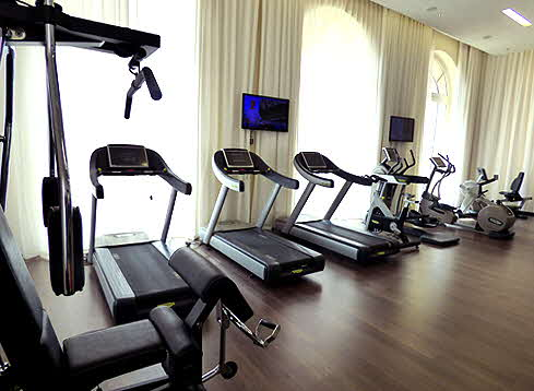 InterContinental Marseille Exercise Room