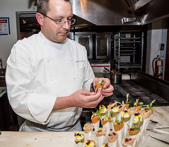 James Beard Foundation Chef Pfefferkorn in the Kitchen