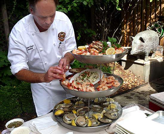 James Beard New Orleans Lunch Seafood Tower