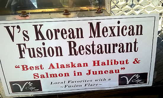 Juneau V's Korean Mexican Fusion