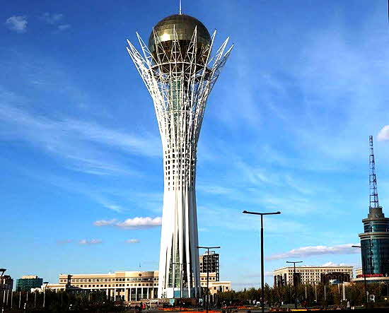 Kazakhstan 12 Baiterek tower