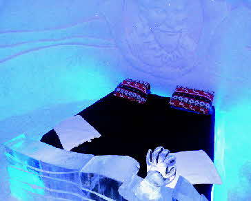 Kirkenes Ice Hotel Bedroom
