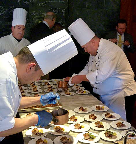 Lufthansa Chefs Working